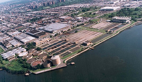 NYCDEP Hunts Point WWTP Phase I, II, III