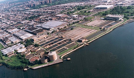 NYCDEP Hunts Point WWTP Phase III Digestors Upgrade