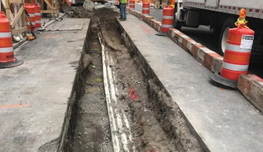 NYCDDC Installation of Distribution Water Mains and Appurtenances for New Building Construction in Manhattan