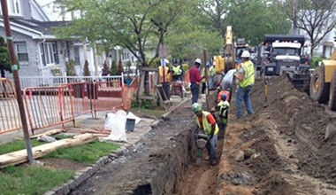 NYCDDC Distribution Water Main Extensions and Replacement in South Queens
